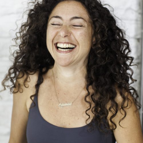Carina laughing